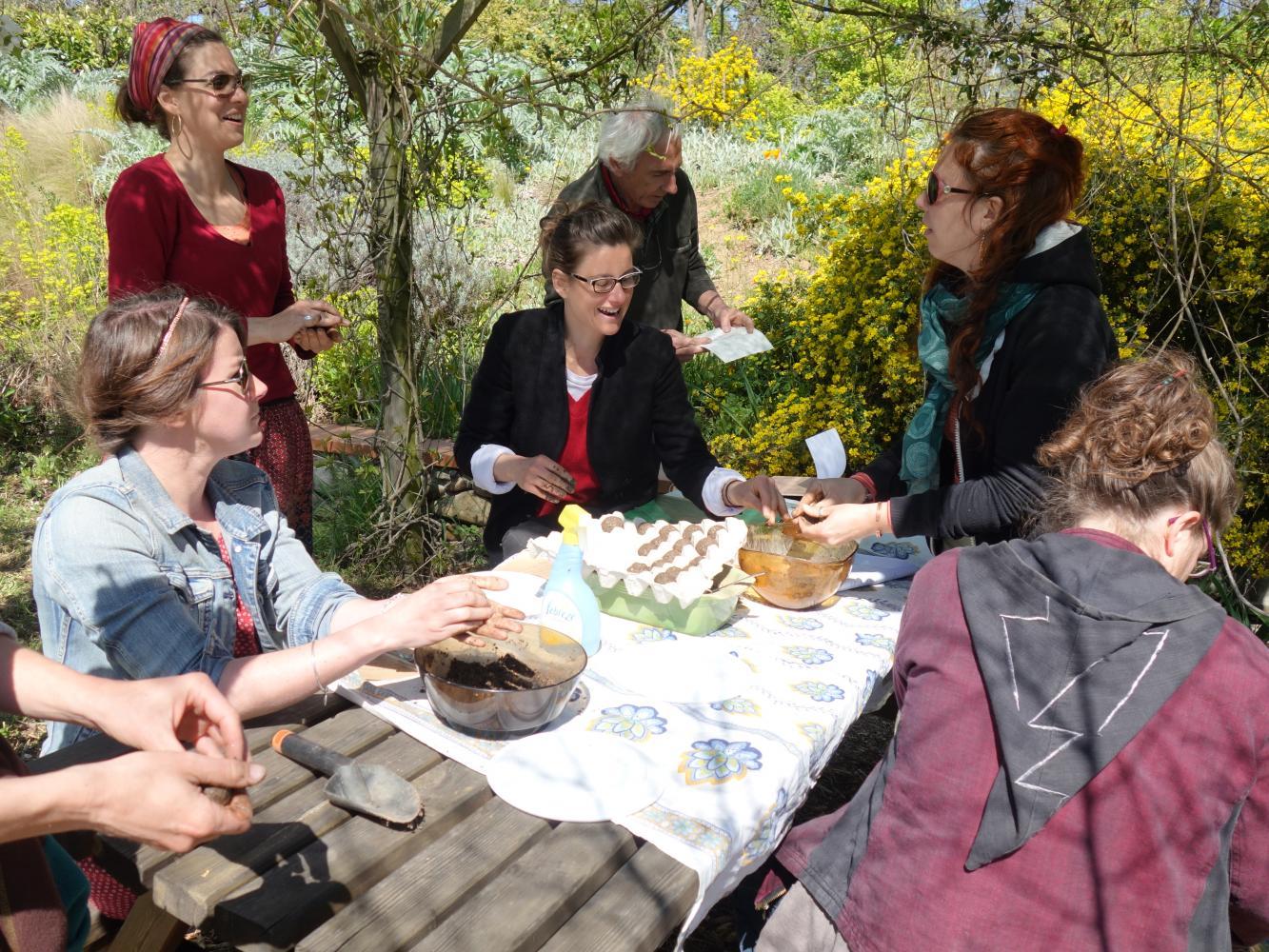 Formation animateur jardin et porteur de projet jardin sur les jardins de Tournefeuille