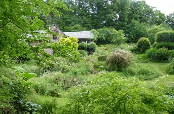 Jardin de gilles Clément dans la Creuse