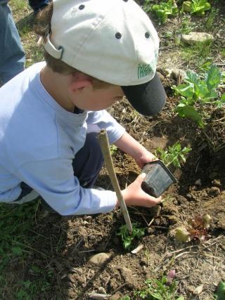 Jardinage avec les enfants